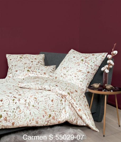 Janine Interlock-Jersey Bettwäsche CARMEN S 55029 natur