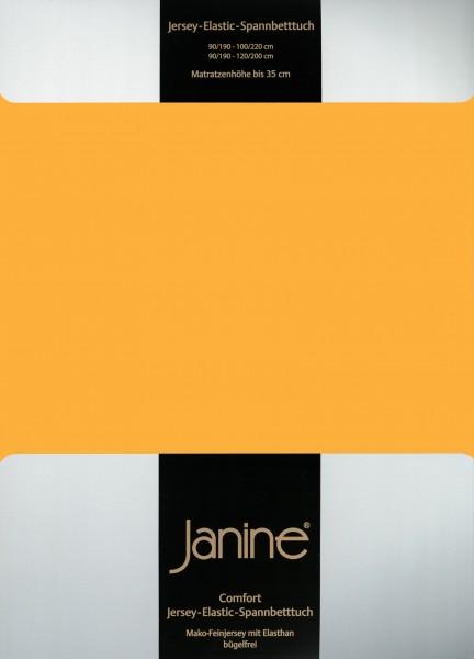 Spannbetttuch Elastic-Jersey 5002 sonnengelb