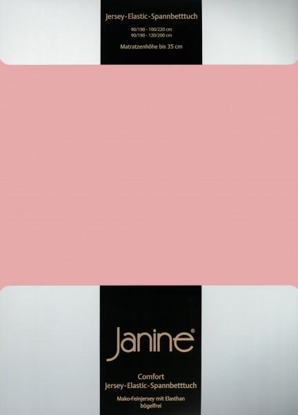 Spannbetttuch Elastic-Jersey 5002 zartmauve