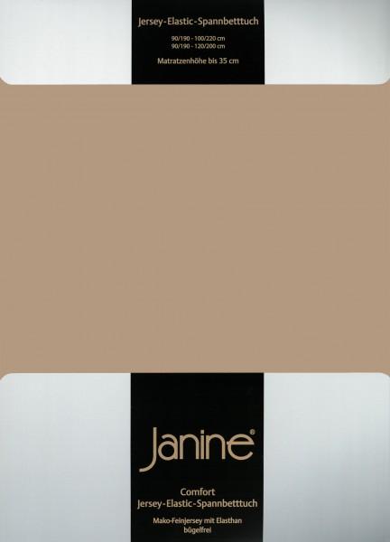 Spannbetttuch Elastic-Jersey 5002 nougat