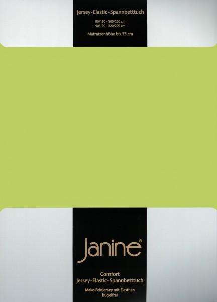 Spannbetttuch Elastic-Jersey 5002 apfelgrün