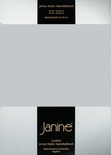 Spannbetttuch Elastic-Jersey 5002 silber
