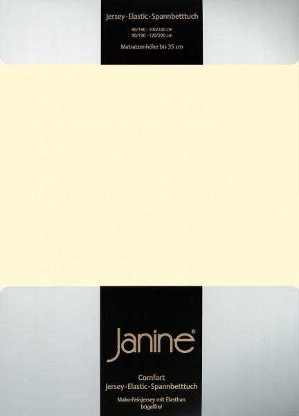 Spannbetttuch Elastic-Jersey 5002 champagner