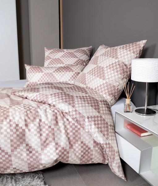 Janine Interlock-Jersey-Bettwäsche Carmen S 55024 rosenholz rosé