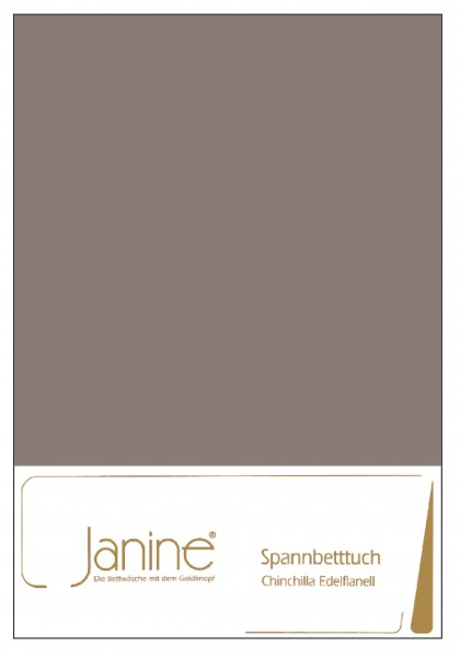 Janine Betttücher CHINCHILLA 7000 taupe