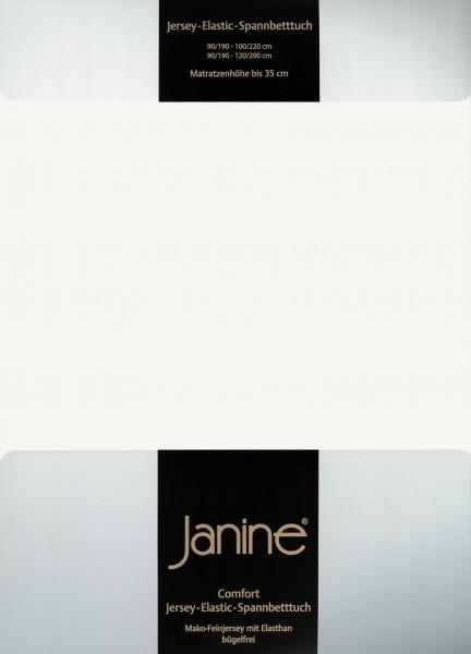 Spannbetttuch Elastic-Jersey 5002 ecru