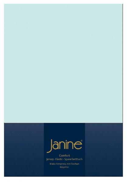 Janine Spannbetttuch Elastic-Jersey 5002 morgennebel