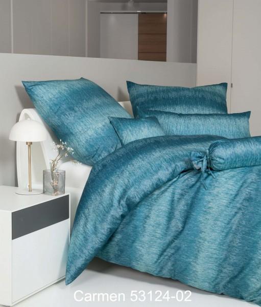 Janine Interlock-Jersey-Bettwäsche CARMEN 53124 ägäischblau