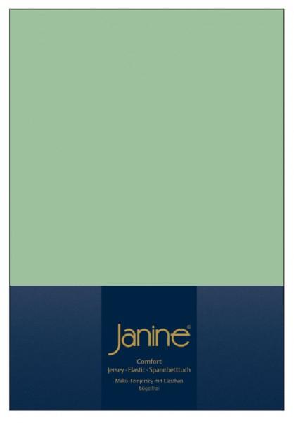 Janine Spannbetttuch Elastic-Jersey 5002 lind