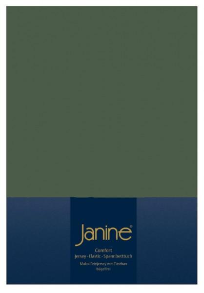 Spannbetttuch Elastic-Jersey 5002 olivgrün