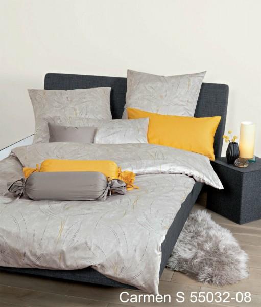 Janine Interlock-Jersey Bettwäsche CARMEN S 55032 monderz goldgelb