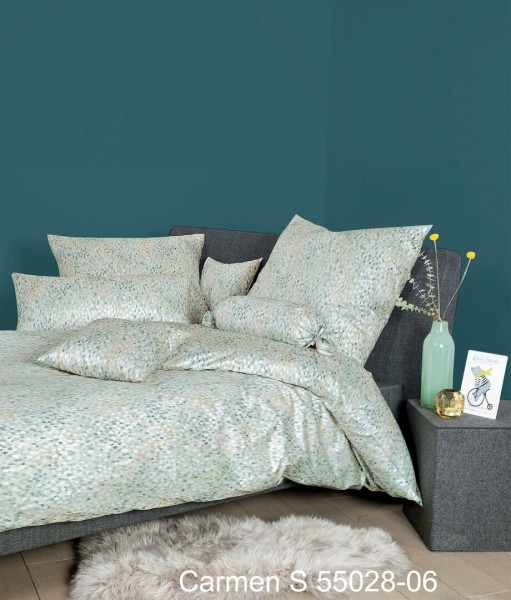 Janine Interlock-Jersey Bettwäsche CARMEN S 55028 jadehauch perlblau