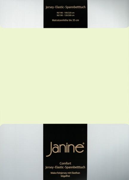 Spannbetttuch Elastic-Jersey 5002 limone