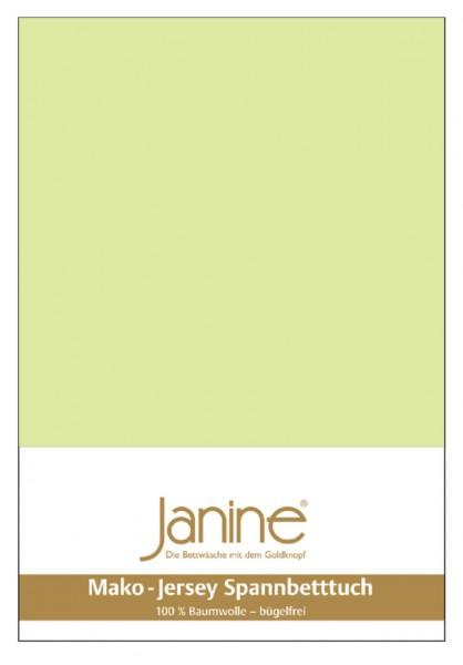 Janine Spannbetttuch Mako-Feinjersey 5007 lilie