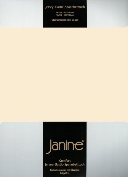 Spannbetttuch Elastic-Jersey 5002 leinen