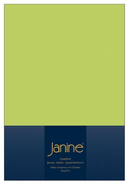 Janine Spannbetttuch Elastic-Jersey 5002 apfelgrün