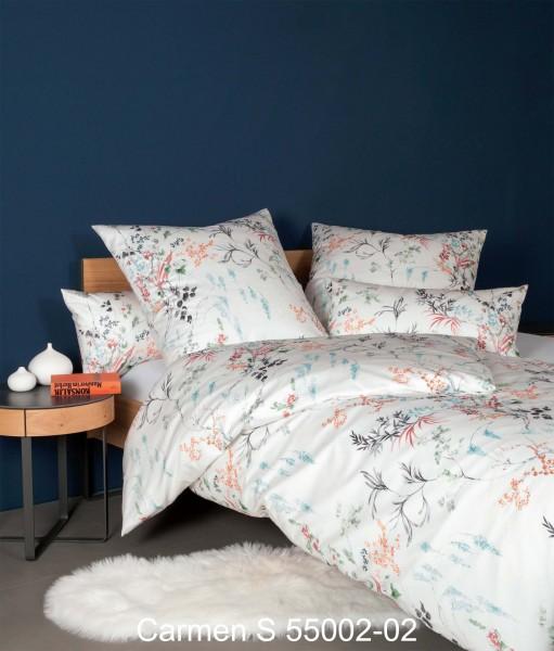 Janine Interlock-Jersey-Bettwäsche CARMEN S 55005 kameeblau siena
