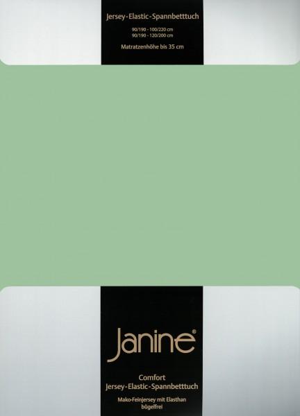 Spannbetttuch Elastic-Jersey 5002 lind