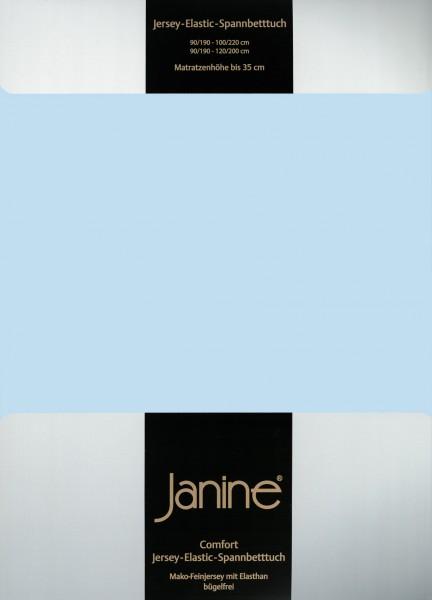 Spannbetttuch Elastic-Jersey 5002 hellblau