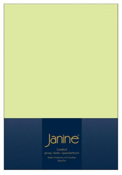 Janine Spannbetttuch Elastic-Jersey 5002 lilie