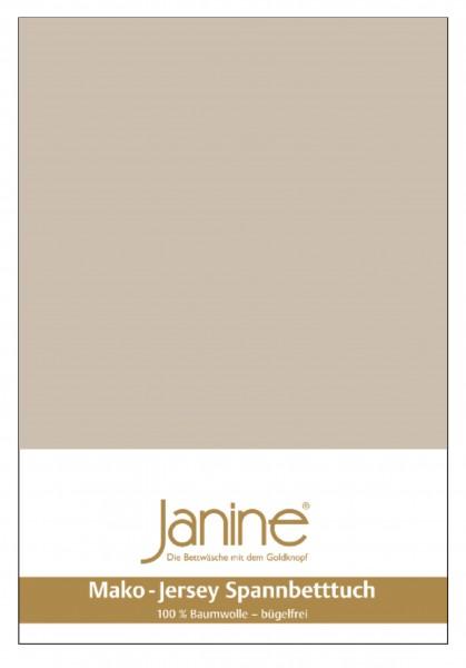 Janine Spannbetttuch Mako-Feinjersey 5007 naturell