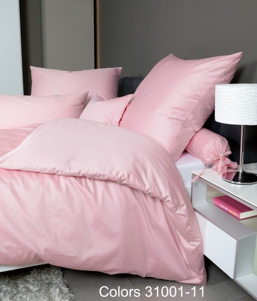Mako-Satin Bettwäsche Colors 31001 rosa