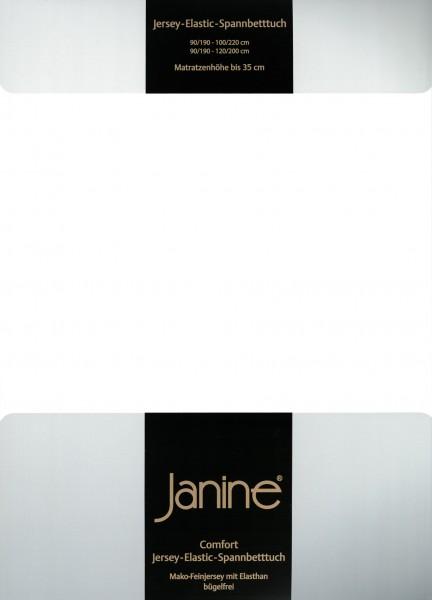 Spannbetttuch Elastic-Jersey 5002 weiß