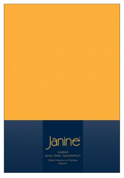 Janine Spannbetttuch Elastic-Jersey 5002 sonnengelb