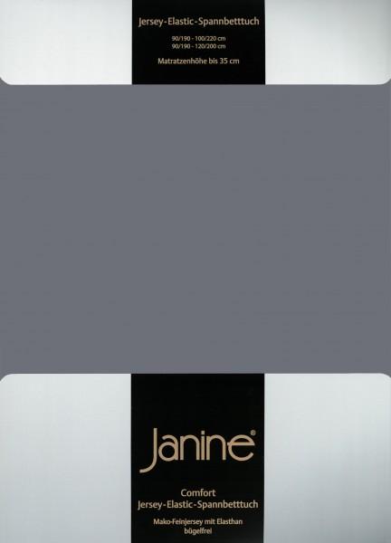 Spannbetttuch Elastic-Jersey 5002 opalgrau