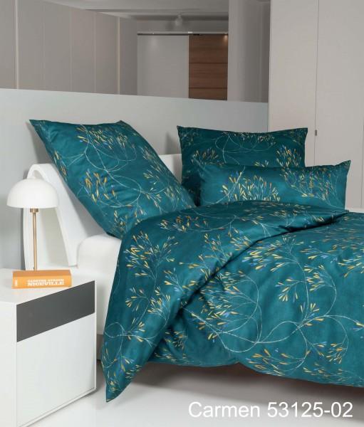 Janine Interlock-Jersey-Bettwäsche CARMEN 53125 ägäischblau