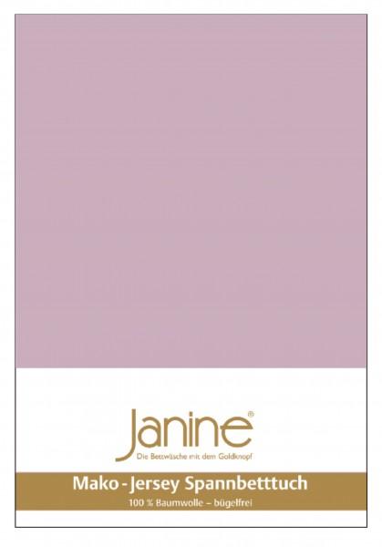 Janine Spannbetttuch Mako-Feinjersey 5007 altrosé