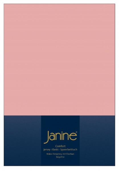 Janine Spannbetttuch Elastic-Jersey 5002 zartmauve