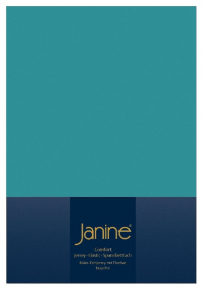 Janine Spannbetttuch Elastic-Jersey 5002 capri