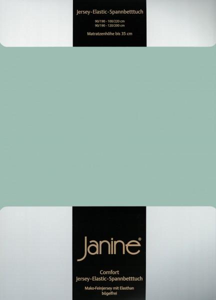 Spannbetttuch Elastic-Jersey 5002 rauchgrün