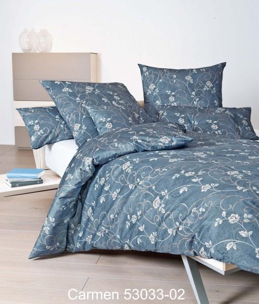 Janine Interlock-Jersey Bettwäsche CARMEN 53033 mondlichtblau