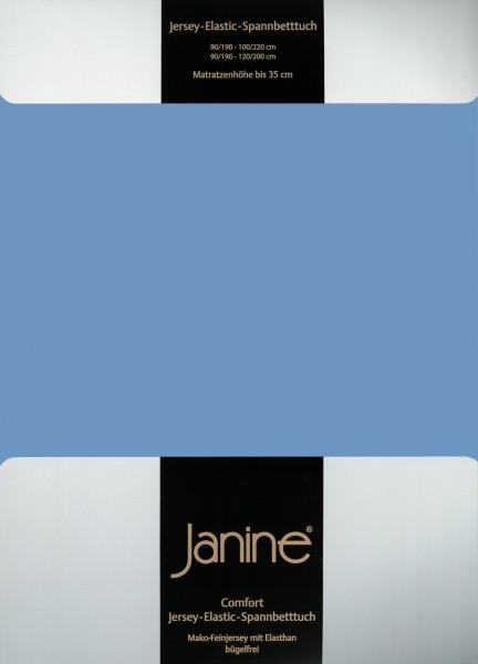 Spannbetttuch Elastic-Jersey 5002 blau