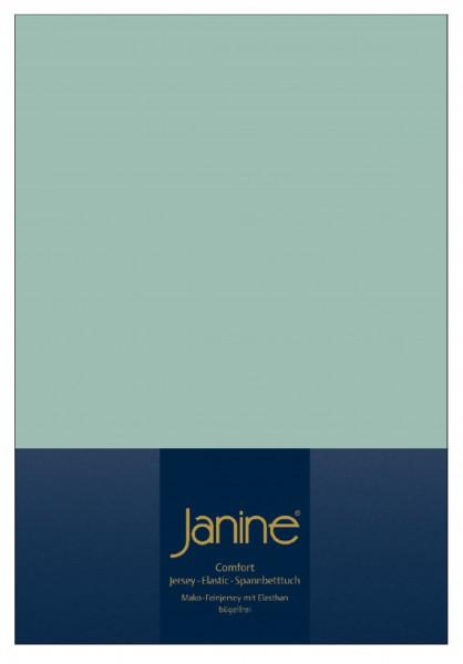 Janine Spannbetttuch Elastic-Jersey 5002 rauchgrün