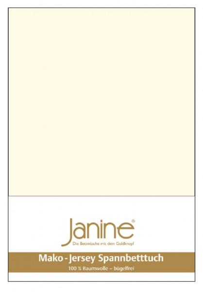 Janine Spannbetttuch Mako-Feinjersey 5007 natur