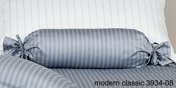 Janine Mako-Satin Nackenrolle modernclassic 3934 silber