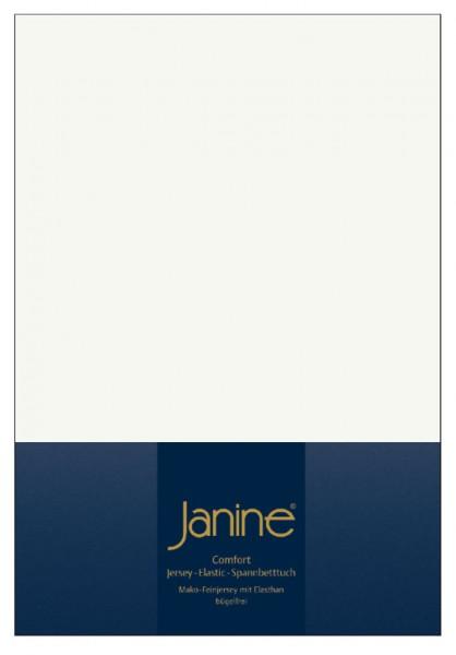 Janine Spannbetttuch Elastic-Jersey 5002 ecru