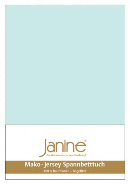 Janine Spannbetttuch Mako-Feinjersey 5007 morgennebel