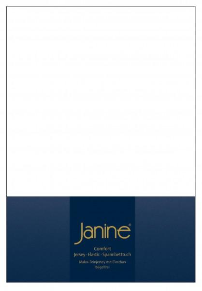 Janine Spannbetttuch Elastic-Jersey 5002 weiß